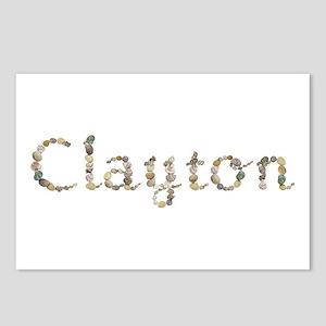 Clayton Seashells Postcards 8 Pack