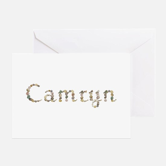Camryn Seashells Greeting Card