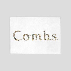 Combs Seashells 5'x7' Area Rug