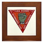 USS HICKOX Framed Tile