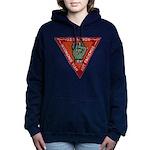 USS HICKOX Women's Hooded Sweatshirt