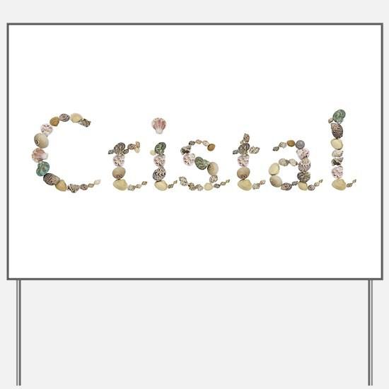 Cristal Seashells Yard Sign