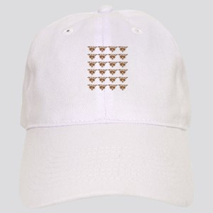 Brown Pine Cones Cap