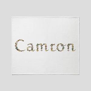 Camron Seashells Throw Blanket