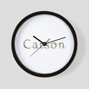 Carson Seashells Wall Clock