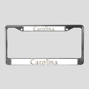Carolina Seashells License Plate Frame