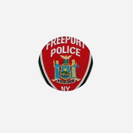 Freeport Police Mini Button