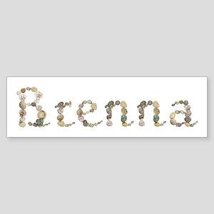 Brenna Seashells Bumper Sticker