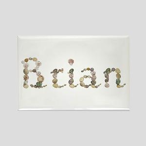 Brian Seashells Rectangle Magnet
