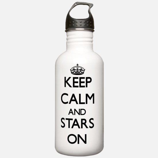 Keep Calm and Stars ON Water Bottle