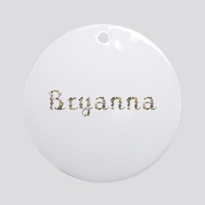 Bryanna Seashells Round Ornament