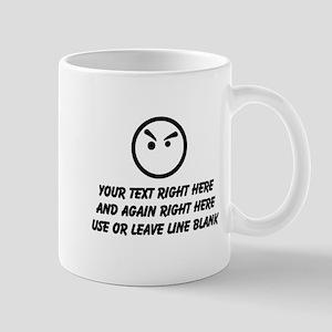 Make Your Own Masculine Font Say 11 oz Ceramic Mug