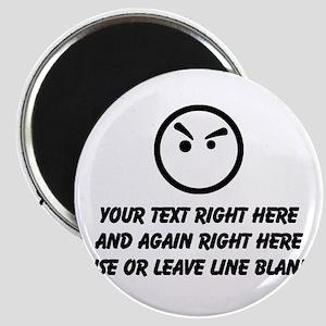Make Your Own Masculine Font Saying Meme Magnet