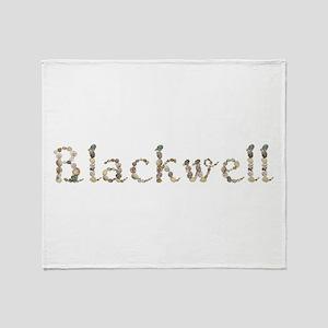 Blackwell Seashells Throw Blanket