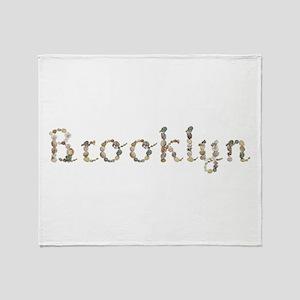 Brooklyn Seashells Throw Blanket
