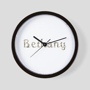 Bethany Seashells Wall Clock
