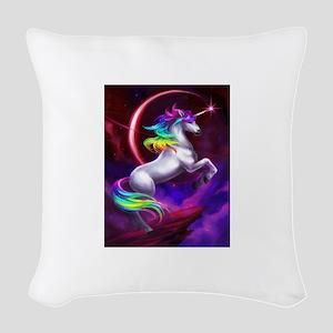 Unicorn Woven Throw Pillow