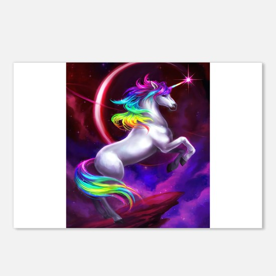Unicorn Postcards (Package of 8)