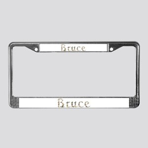 Bruce Seashells License Plate Frame