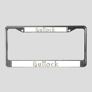 Bullock Seashells License Plate Frame
