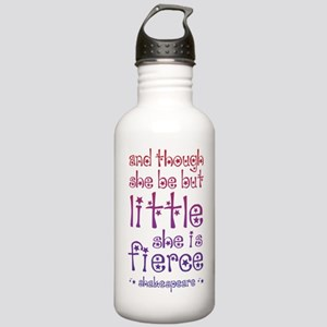 Though She Be But Litt Stainless Water Bottle 1.0L