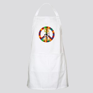 Peace Love Cows Apron