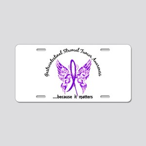 GIST Butterfly 6.1 Aluminum License Plate
