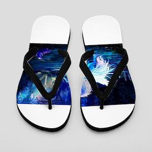 Unicorn Flip Flops