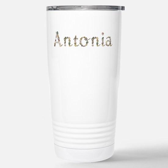 Antonia Seashells Ceramic Travel Mug