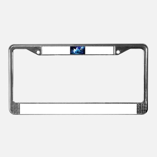 Unicorn License Plate Frame