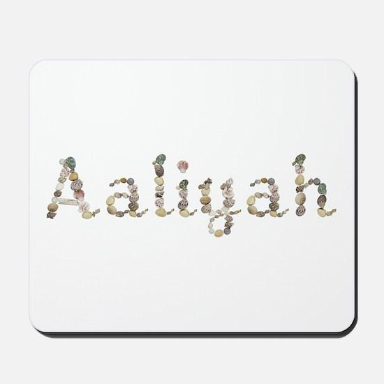 Aaliyah Seashells Mousepad