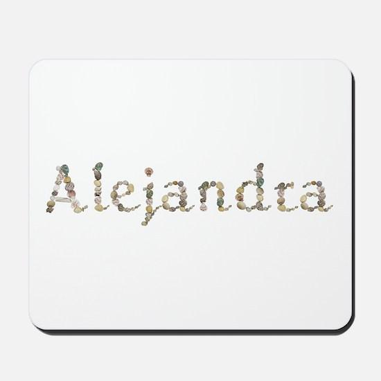 Alejandra Seashells Mousepad