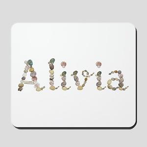 Alivia Seashells Mousepad