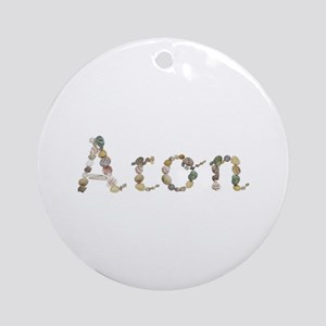 Aron Seashells Round Ornament