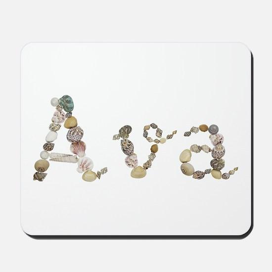 Ava Seashells Mousepad