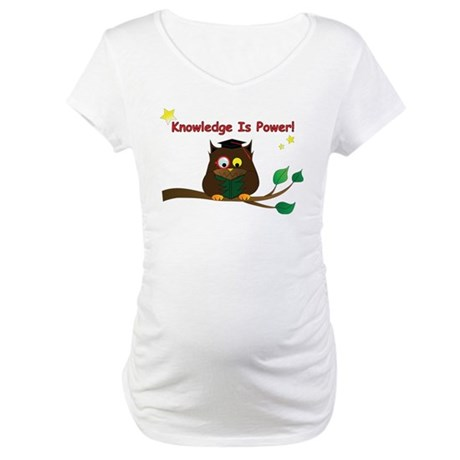 Wise Owl Maternity T-Shirt