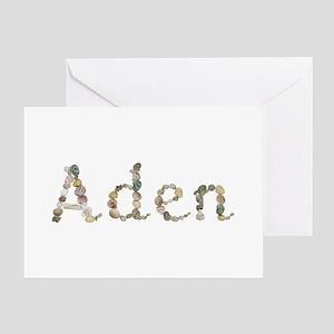 Aden Seashells Greeting Card