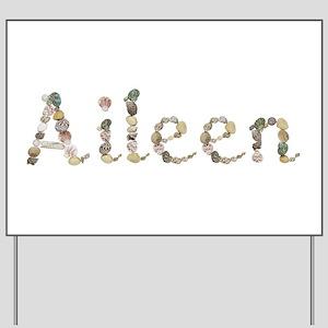 Aileen Seashells Yard Sign