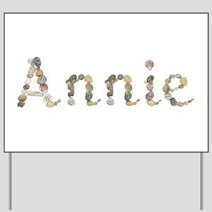 Annie Seashells Yard Sign