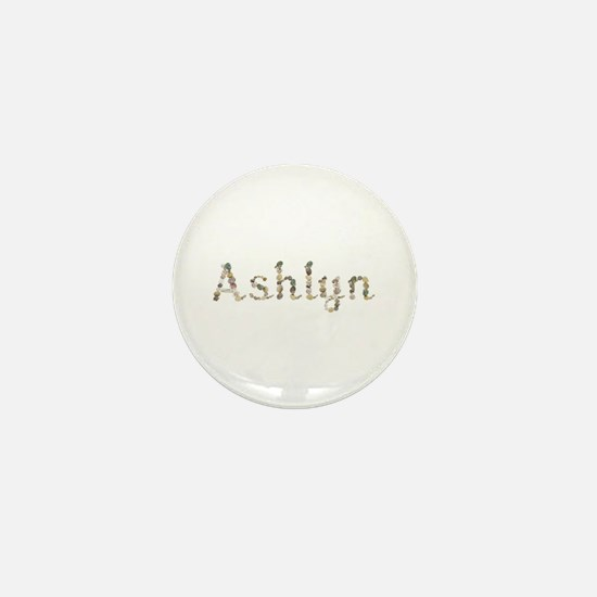 Ashlyn Seashells Mini Button