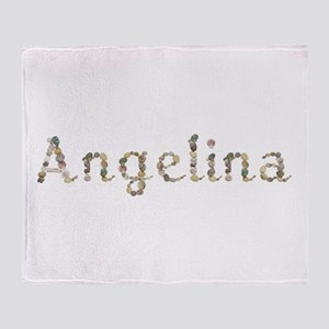 Angelina Seashells Throw Blanket