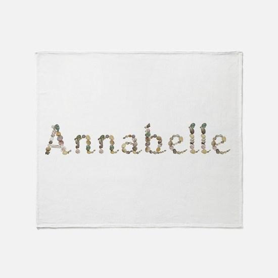 Annabelle Seashells Throw Blanket