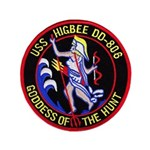USS HIGBEE Button