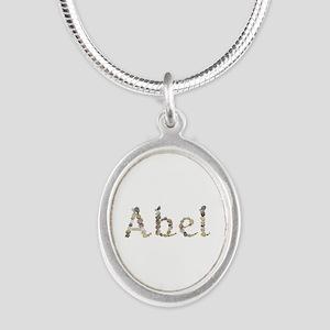 Abel Seashells Silver Oval Necklace