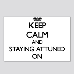 Keep Calm and Staying Att Postcards (Package of 8)