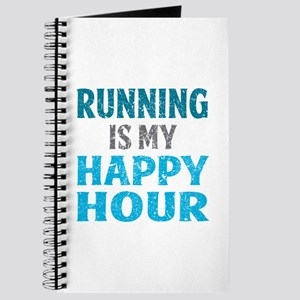 Running Is My Happy Hour Journal