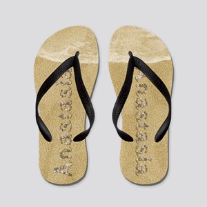 Anastasia Seashells Flip Flops
