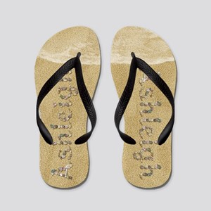 Ashleigh Seashells Flip Flops