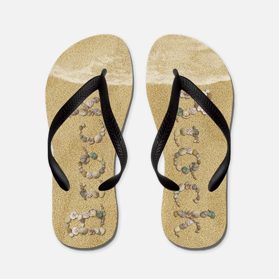 Brock Seashells Flip Flops