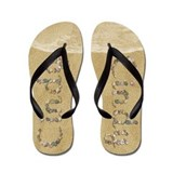Girl name cindy Flip Flops